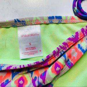 Xhilaration Swim - Xhilaration Girls' Tween Geometric Bikini Sz S